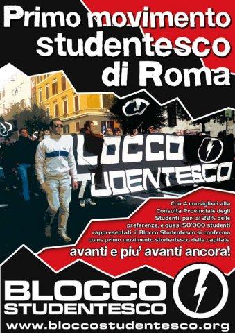 Roma: CPS, le proposte e i numeri del Blocco Studentesco contro l'odio antifascista dell'UDS