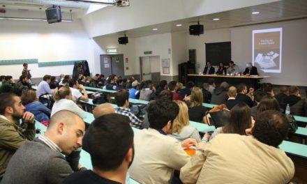 Blocco Studentesco: oltre 200 persone alla conferenza su Carlo Parlanti a Roma Tre