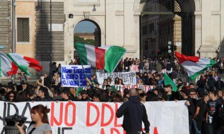 Continua l'«autunno caldo», il 24 novembre tutti a Roma con CasaPound