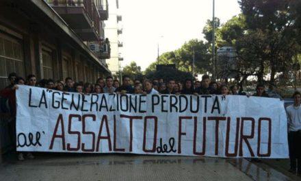 Palermo: Blocco Studentesco, blitz all'ufficio di collocamento con gli studenti del «Pio La Torre»