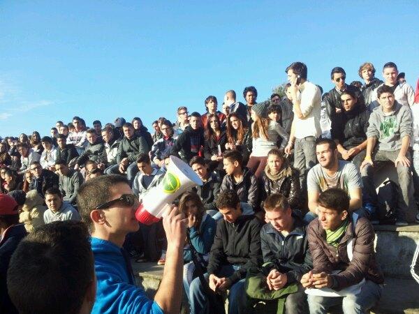 Roma: Blocco Studentesco, 600 studenti in corteo zona Trionfale, sit-in ITIS Garibaldi