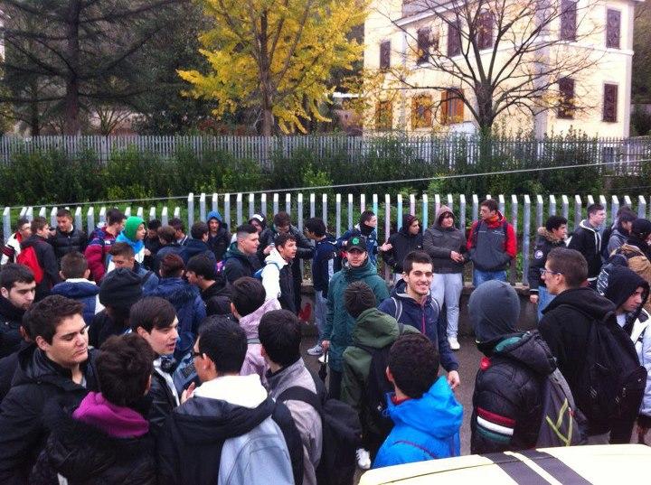 Tivoli: Blocco Studentesco promuove lo sciopero dell'I.T.I. A.Volta