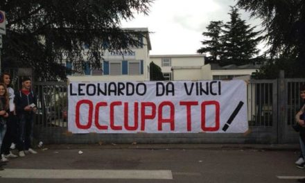 Viterbo: Blocco Studentesco, prosegue l'occupazione dell'Istituto Da Vinci. «Complimenti dei docenti per nostra gestione».