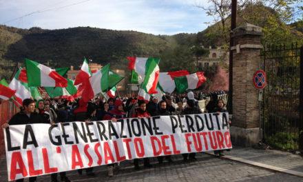 Tivoli: Blocco Studentesco manifesta con gli studenti per le vie della città