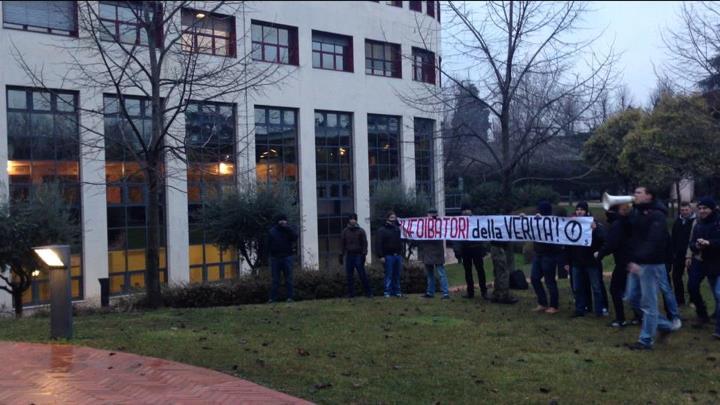 Foibe: Verona, interrotto convegno negazionista svolto da collettivi a università