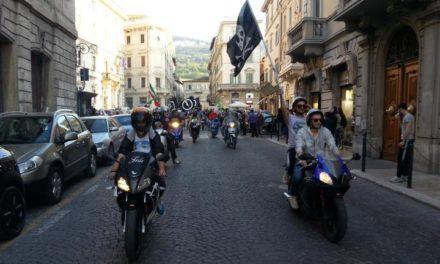 Ascoli: Blocco Studentesco, una motorinata all'assalto del futuro