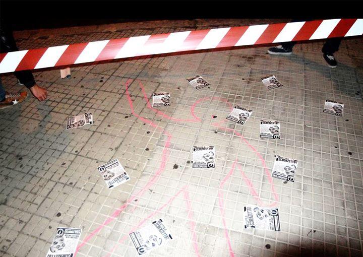 Lecce: tagli e contributo volontario, il Blocco Studentesco inscena la morte della cultura