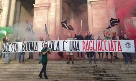 """Blocco Studentesco: Blitz e sit-in in tutta Italia contro la """"Buona scuola"""" di Renzi"""