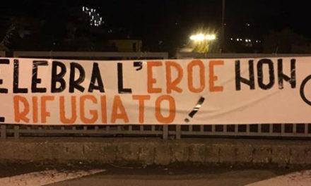 Blocco Studentesco: striscioni in tutta Italia per ricordare la vittoria italiana nella Prima Guerra Mondiale