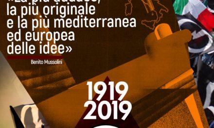 Il Blocco Studentesco celebra il centenario dell'adunata di piazza San Sepolcro