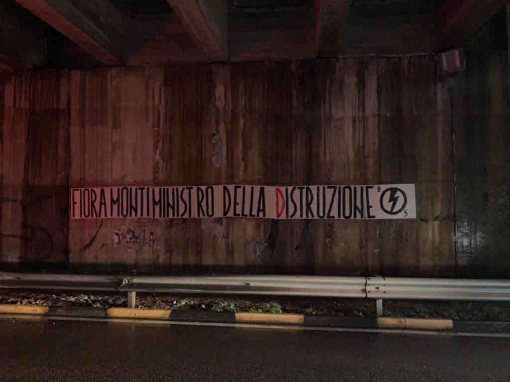 blocco studentesco azione contro ministro lorenzo finamonti greta ambiente distruzione cagliari