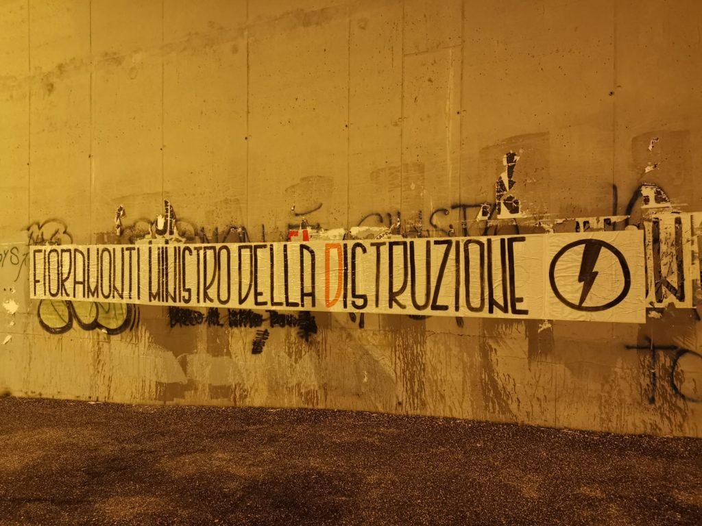 blocco studentesco azione contro ministro lorenzo finamonti greta ambiente distruzione castelli romani