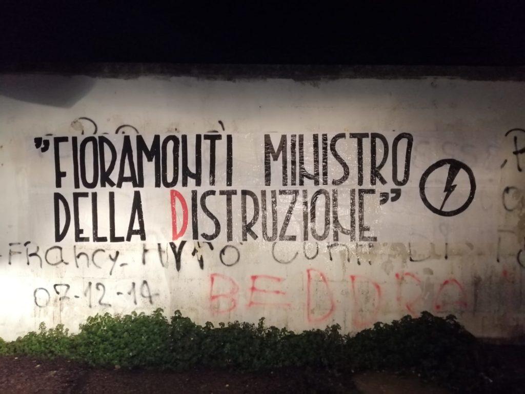 blocco studentesco azione contro ministro lorenzo finamonti greta ambiente distruzione lecce