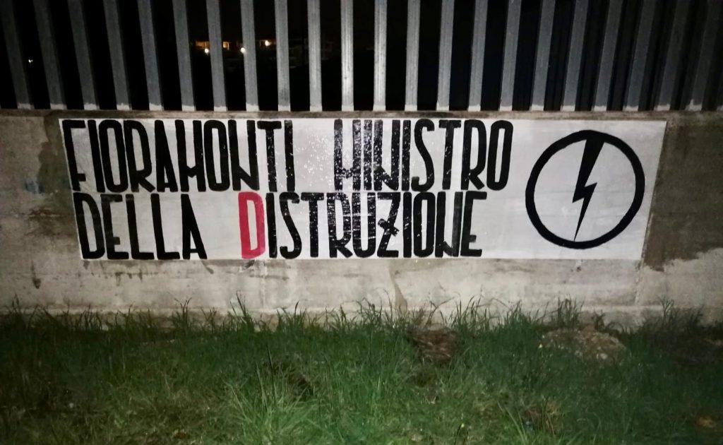 blocco studentesco azione contro ministro lorenzo finamonti greta ambiente distruzione pomezia