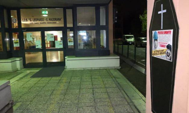 """Blocco Studentesco Pordenone: amianto al """"Leopardi-Majorana"""""""