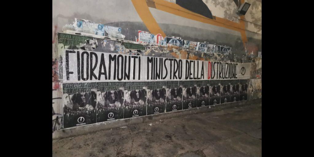 blocco studentesco azione contro ministro lorenzo finamonti greta ambiente distruzione roma