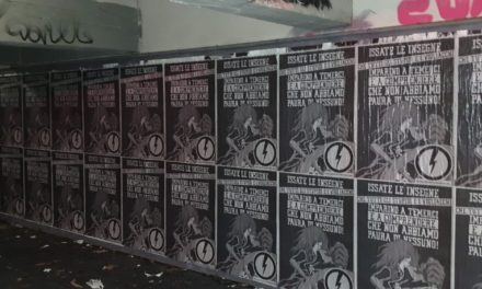 Blocco Studentesco: manifesti in tutta Italia con il volto di Capitan Harlock