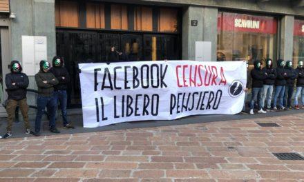 Blocco Studentesco Milano: blitz alla sede italiana di Facebook