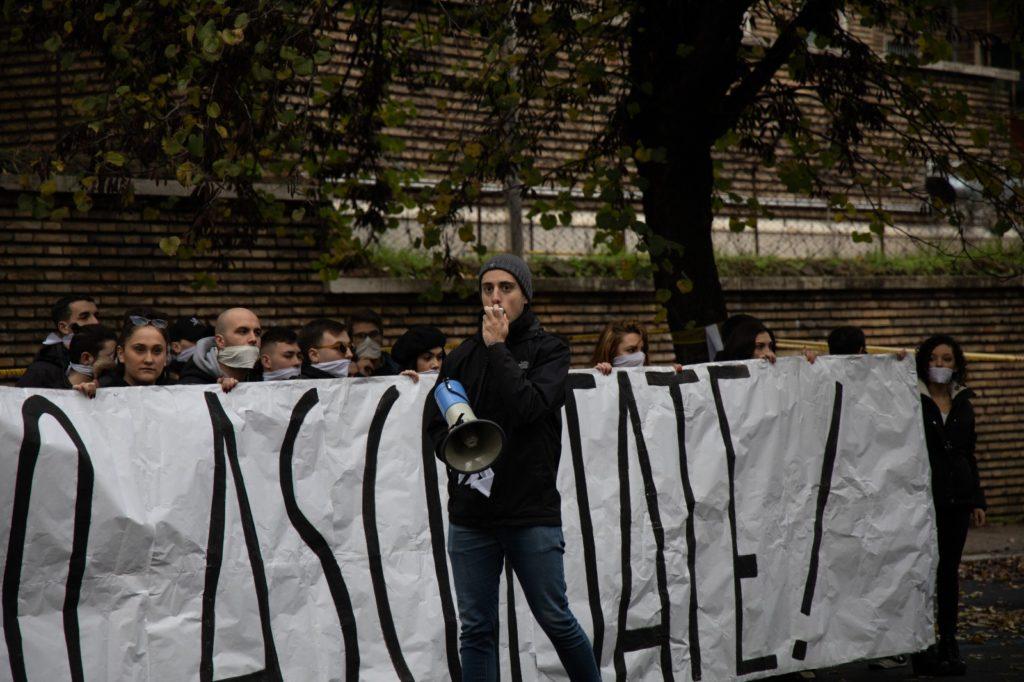 consulta provinciale studenti romani in protesta ministro fioramonti bavaglio