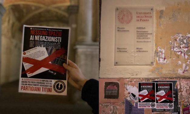 Blocco Studentesco risponde al comunicato negazionista di Udu Padova