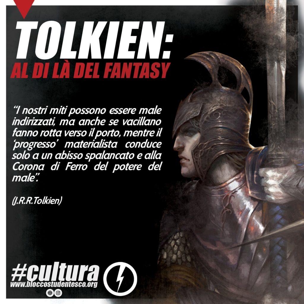 blocco studentesco tolkien mito fantasy cultura