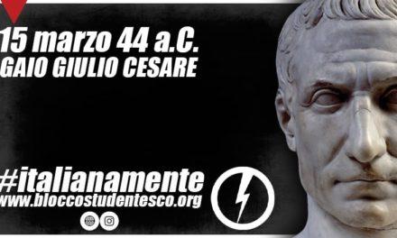 CESARE: IL MITO ROMANO NELLO SPIRITO UNIVERSALE