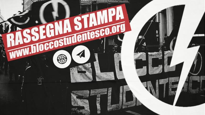 rassegna stampa blocco studentesco movimento giovanile casapound italia gioventù