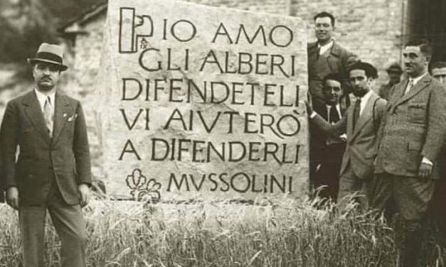 SOVRANISMO, FASCISMO ED AMBIENTALISMO