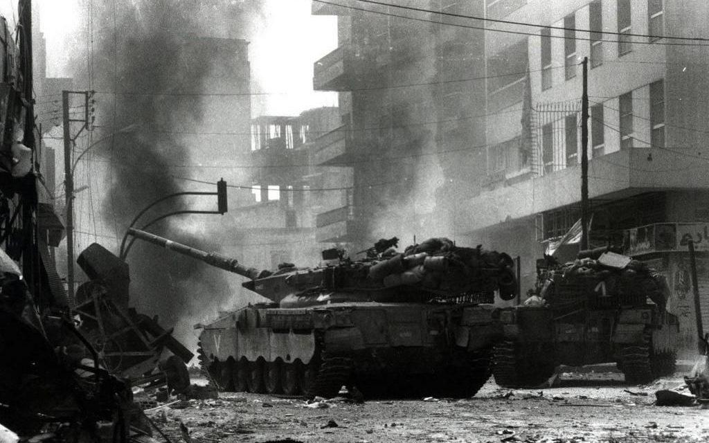 PRIMA GUERRA ISRAELO-LIBANESE: LA FINE