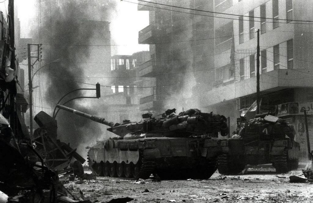 la prima guerra israelo libanese la fine blocco studentesco