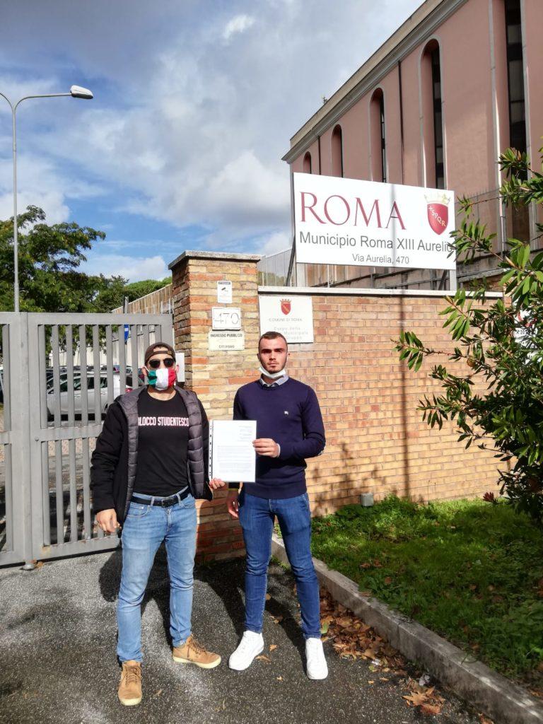blocco studentesco roma liceo seneca covid