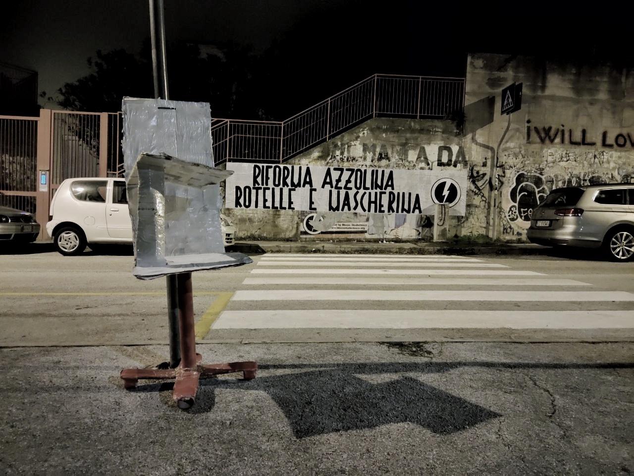 blocco studentesco fvg 20 ottobre azzolina rotelle mascherina