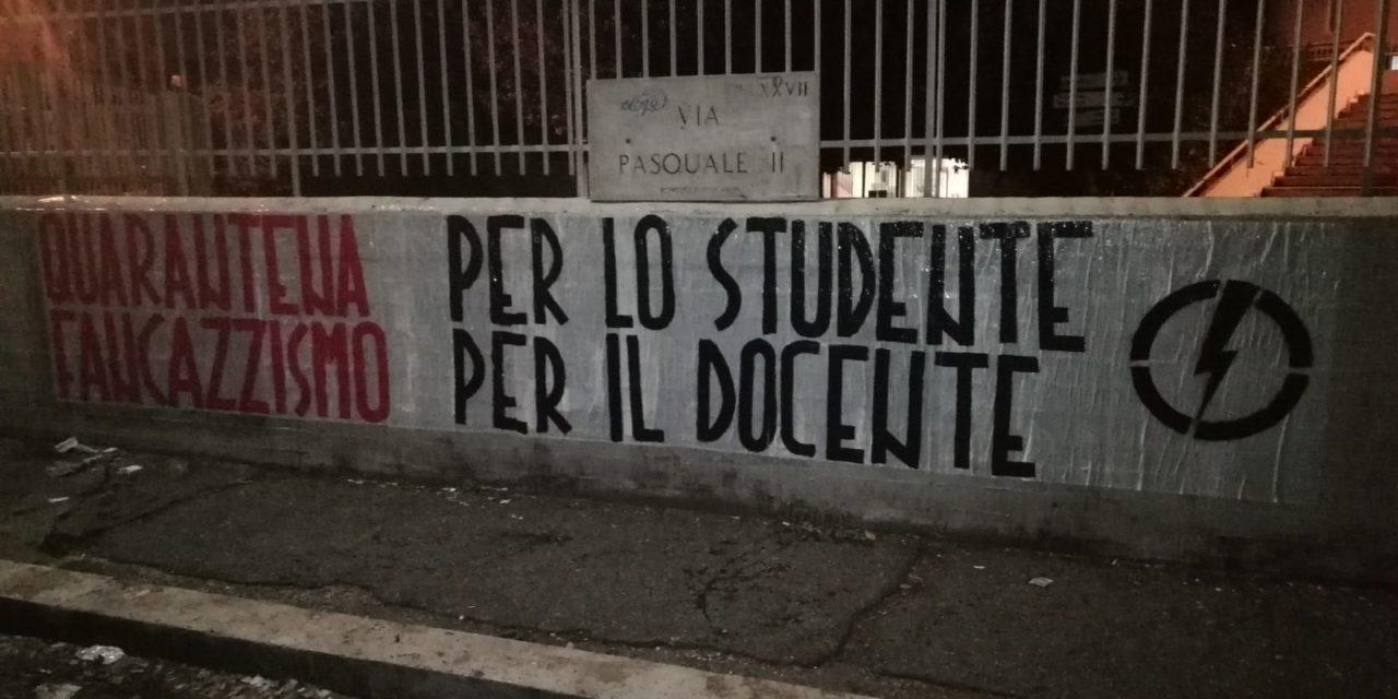 BLOCCO STUDENTESCO: IN QUARANTENA GLI STUDENTI DELL'EINSTEIN, DOCENTI A RIPOSO NELLE CLASSI