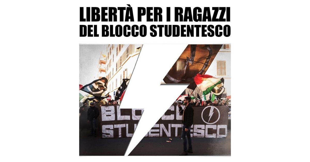 """Firenze, arresti domiciliari per 3 ragazzi del Blocco Studentesco incensurati. """"Colpevoli"""" di aver lanciato dei volantini"""