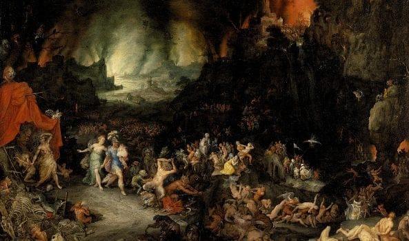 DAGLI INFERI ALL'INFERNO: L'OLTRETOMBA PRIMA DEL CRISTIANESIMO