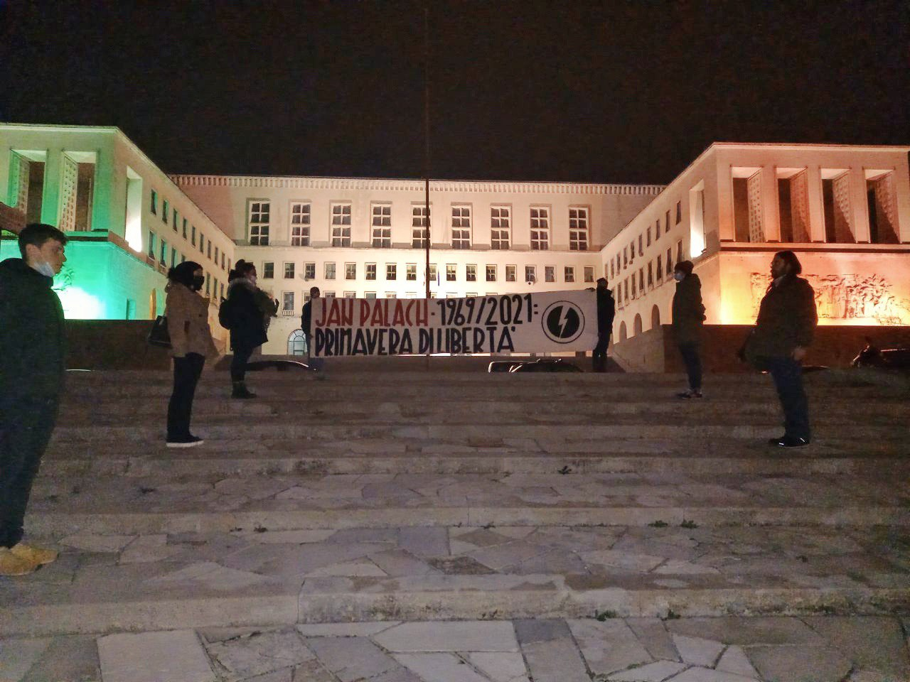 blocco studentesco trieste 19 gennaio jan palach primavera di liberta