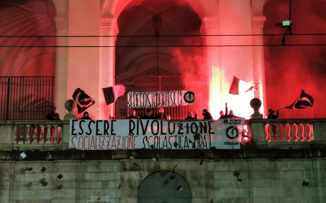 BLOCCO STUDENTESCO NAPOLI LANCIA SOCIALIZZAZIONE SCOLASTICA