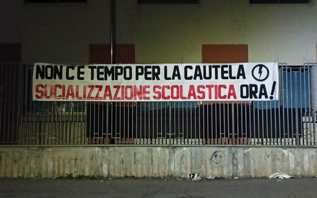 BLOCCO STUDENTESCO NOVARA: NON C'È TEMPO PER LA CAUTELA, SOCIALIZZAZIONE SCOLASTICA ORA!