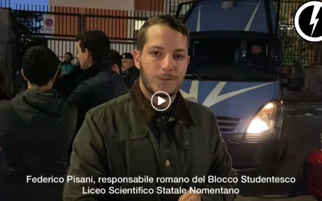 blocco-studentesco-roma-12-ottobre-negazionismo-foibe-liceo-nomentano