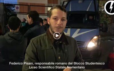 BLOCCO STUDENTESCO ROMA: NEGAZIONISMO DELLE FOIBE AL NOMENTANO.