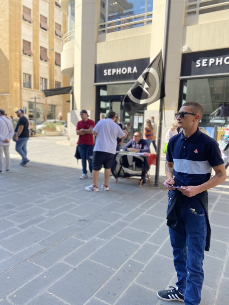 blocco studentesco 2 ottobre banchetto bari