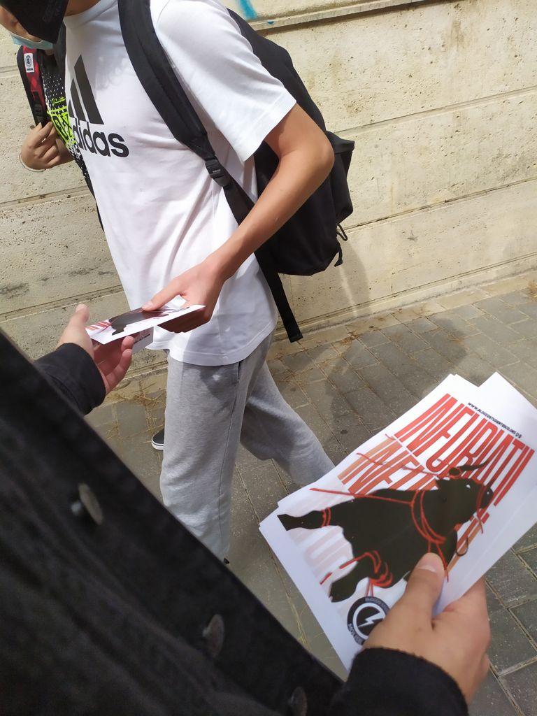 blocco studentesco 2 ottobre banchetto campobasso