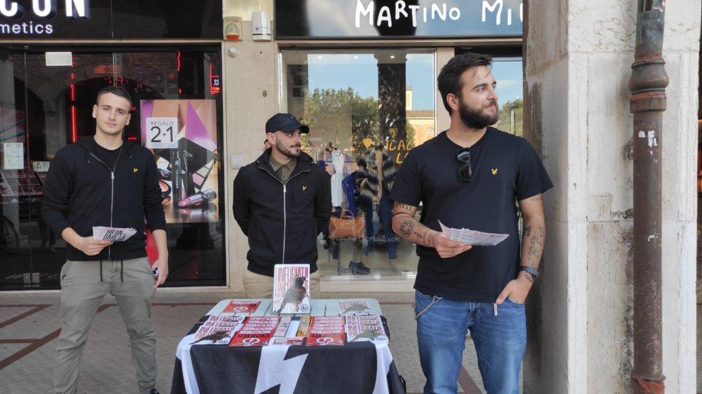 blocco studentesco 2 ottobre banchetto cesena