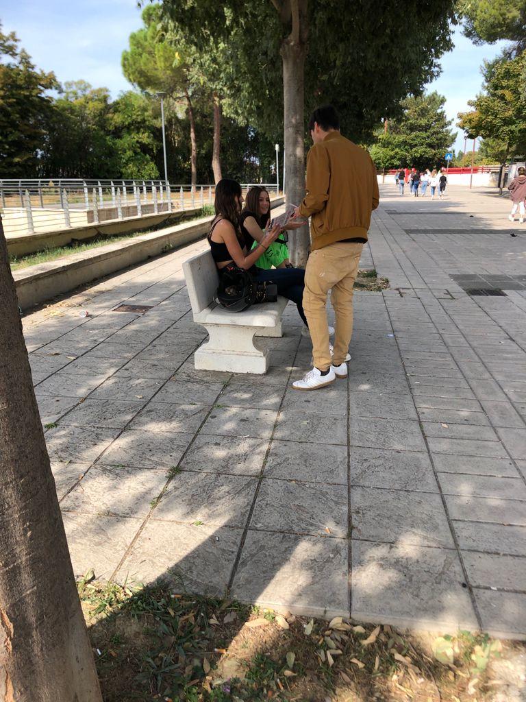 blocco studentesco 2 ottobre banchetto foligno
