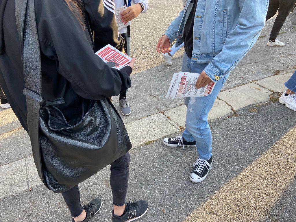 blocco studentesco 2 ottobre banchetto gorizia