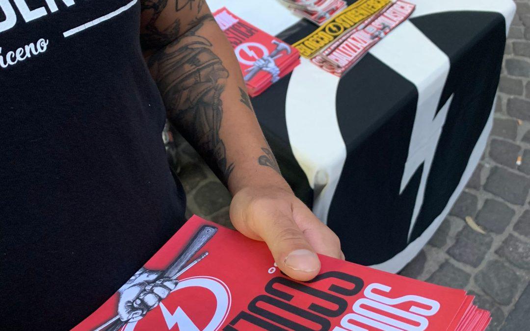 blocco studentesco 2 ottobre banchetto napoli