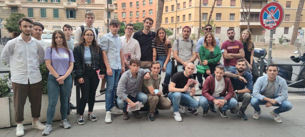 blocco studentesco 2 ottobre banchetto roma
