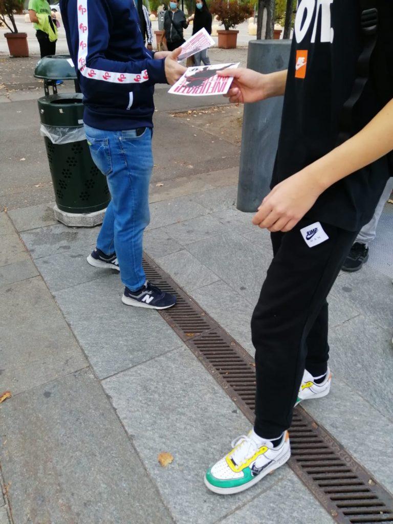 blocco studentesco 2 ottobre banchetto torino
