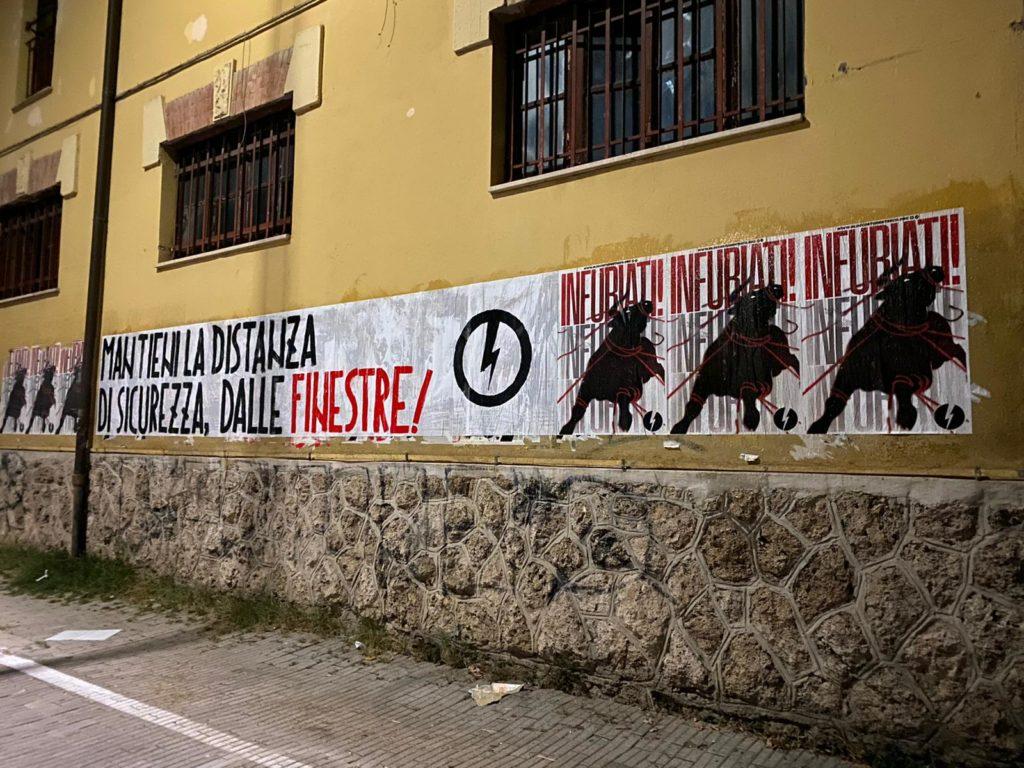 blocco studentesco rieti 4 ottobre mantieni la distanza dalle finestre 1