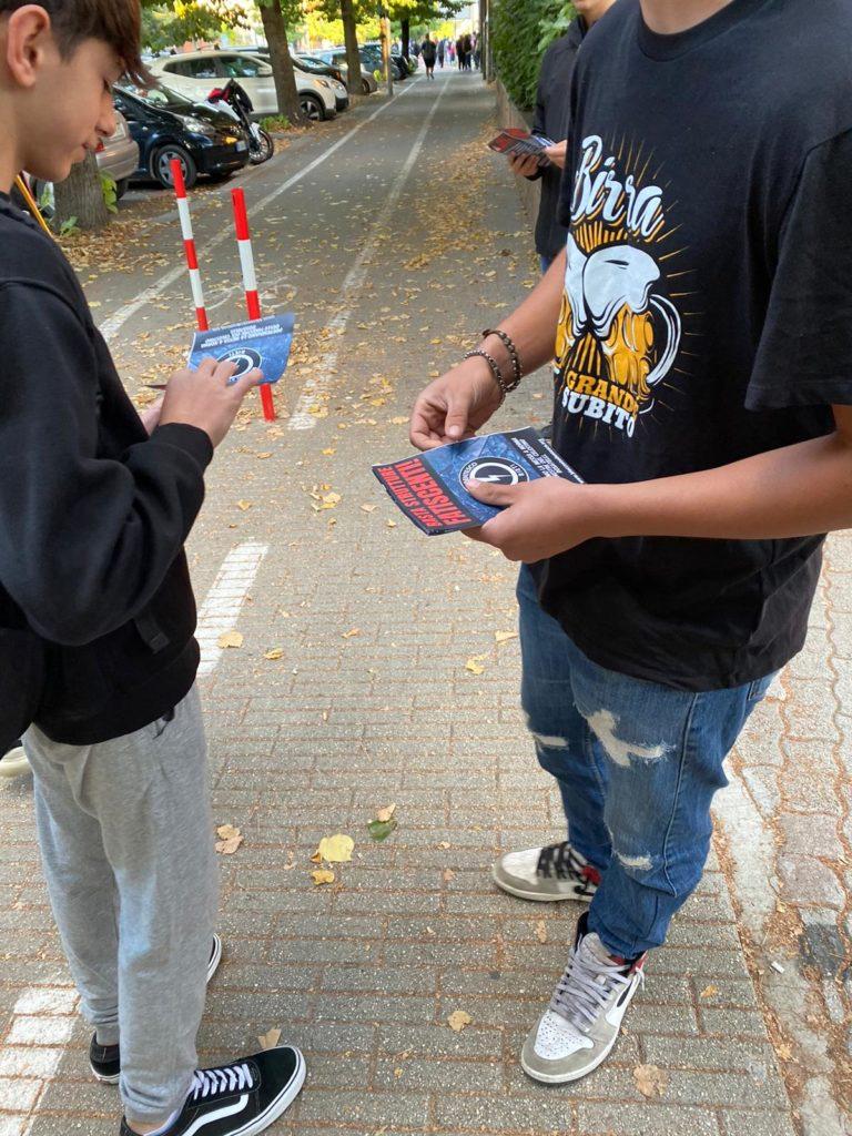 blocco studentesco rieti 4 ottobre mantieni la distanza dalle finestre 3